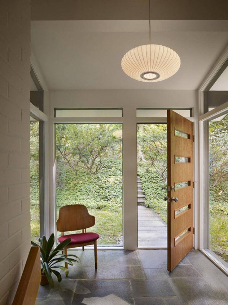 Seidenberg House by Metcalfe Architecture & Design  entrance