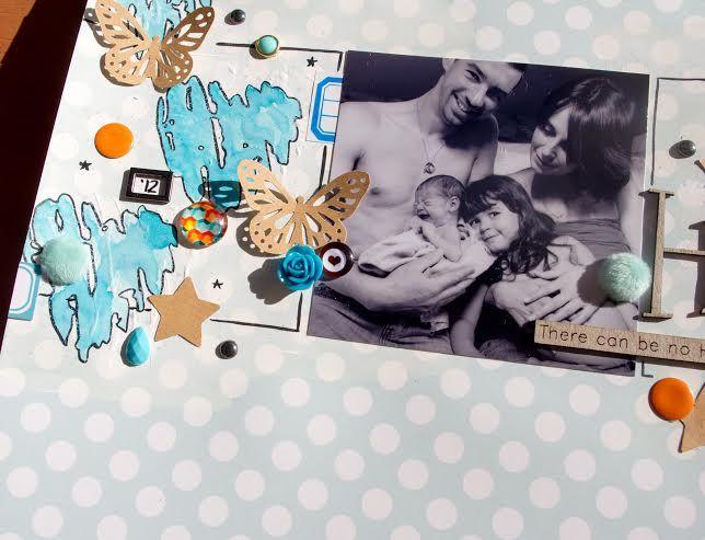 Papiers et stickers 4h37, étiquettes, pastilles, cadre métal, cabochon, bulle top moumoute et kraft autocollant Ephéméria by Luckie