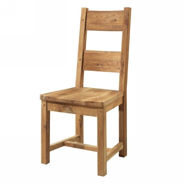"Chaise chêne massif huilé ""Lodge Casita"""