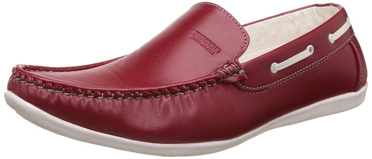 #Rosso #Italiano #Men's #Red #Casual #Loafers #Shoe(ril499rd103)