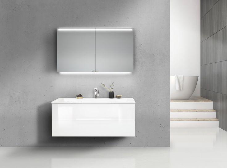 Viac ako 25 najlepších nápadov na Pintereste na tému - badezimmer spiegelschrank led