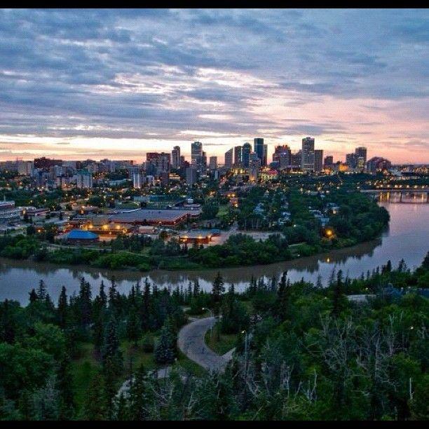 Best image of Edmonton I have ever seen.
