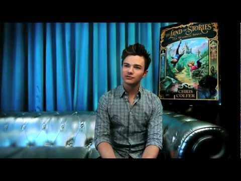 Chris Colfer introduces THE LAND OF STORIES