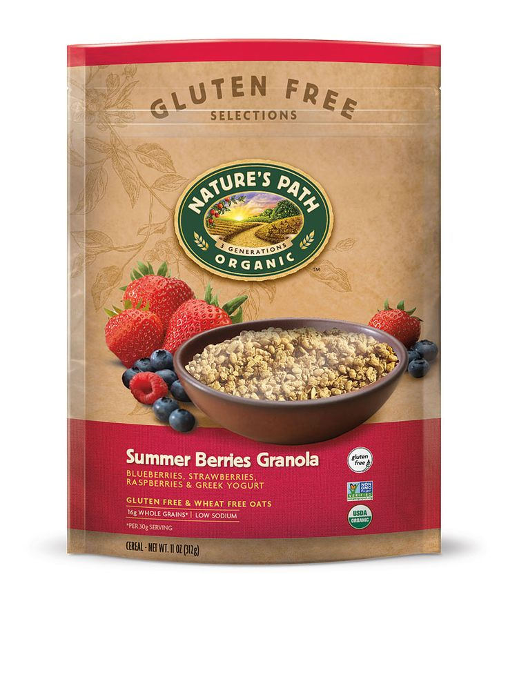 Nature's Path Organic Granola Gluten Free Summer Berries