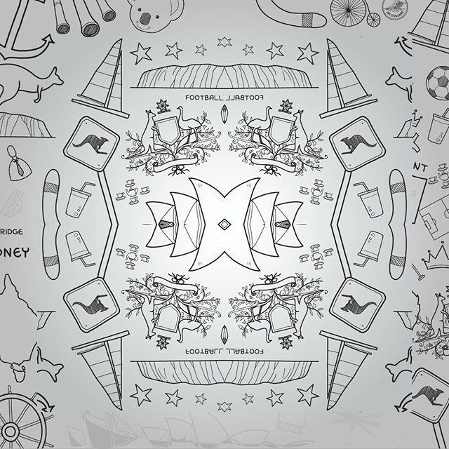 Trabajo creativo realizado en las clases de Preprensa Digital en la UDI Universitaria de Investigación y Desarrollo 2017 #TrabajoCreativo #Preprensa #Digital #DiseñoGráfico #UDI #Universitaria #Investigación #Desarrollo #Bucaramanga #Santander #Colombia #LuigiTools #D3ltaApp #Abstracto #Arte #ArteAbstracto #Fold #Doblez #Football #Sydney #Kangaroo #Graffiti #GrayScale Arte Abstracto @udi_oficial @udigrafico