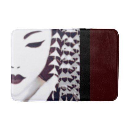 Geisha Bath Mat - classic gifts gift ideas diy custom unique