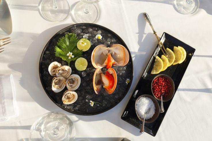 Seafood platter at Ithaki Restaurant, Vouliagmeni