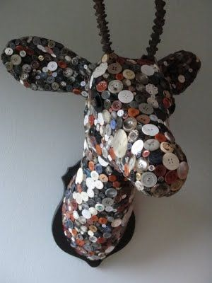button stag