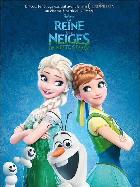 affiche du film La Reine des Neiges - Une fête givrée