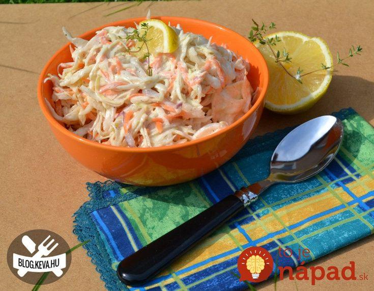 Namiesto ťažkých šalátov s majonézou: Ľahký kapustový šalátik s výbornou jogurtovo-horčicovou zálievkou!