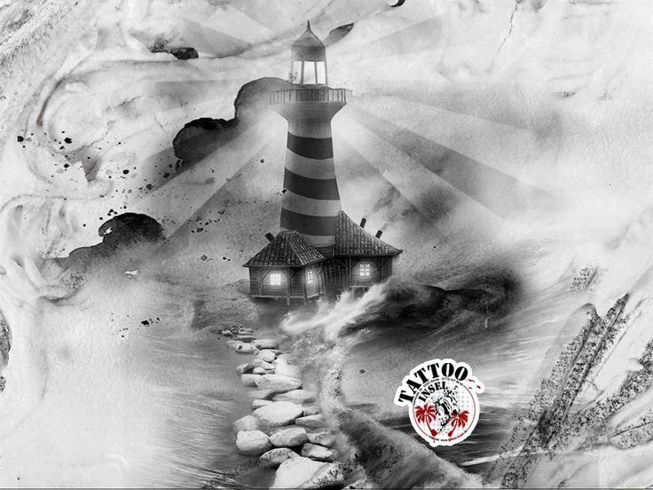 die besten 25 leuchtturm tattoos ideen auf pinterest leuchtturm zeichnung nautische. Black Bedroom Furniture Sets. Home Design Ideas