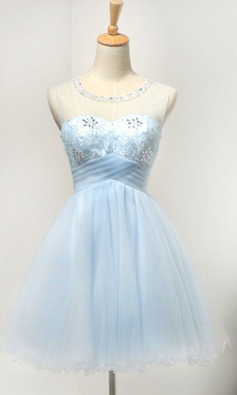 Round Homecoming Dresses, Blue Homecoming Dresses, Blue Round Homecoming Dresses, Round Homecoming Dresses, Light Blue Short Tulle Classy Girly Homecoming Dresses, Light Blue dresses, Short Homecoming Dresses, Light Blue Short dresses, Short Blue Dresses, Homecoming Dresses Short, Light Blue Homecoming Dresses, Blue Short Dresses, Short Tulle dresses