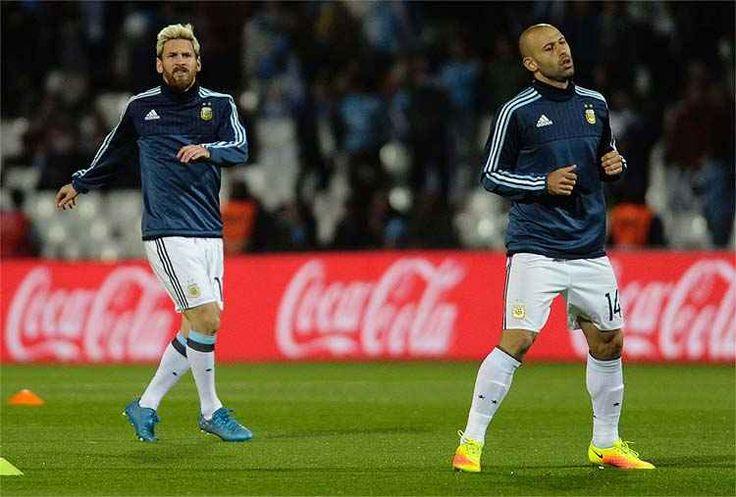 AFP / ANDRES LARROVERE BRASIL x ARGENTINA EM BELO HORIZONTE - BRASIL