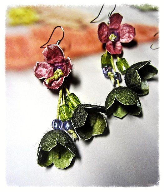 earrings by cocoon