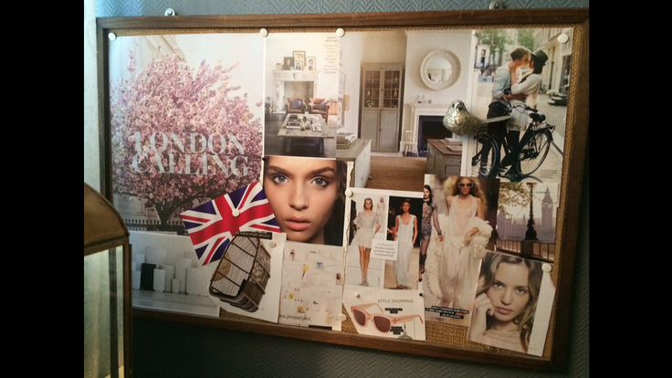 My visionboard for spring