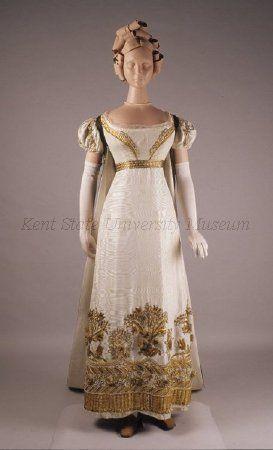 evening gown 1819   Regency Ball Gowns