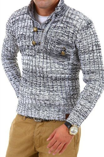 Tazzio - knitted jumper with button-down front - jumper 3560 - Size XL Tazzio http://www.amazon.co.uk/dp/B009AE8HWA/ref=cm_sw_r_pi_dp_7.c2ub045PEMK