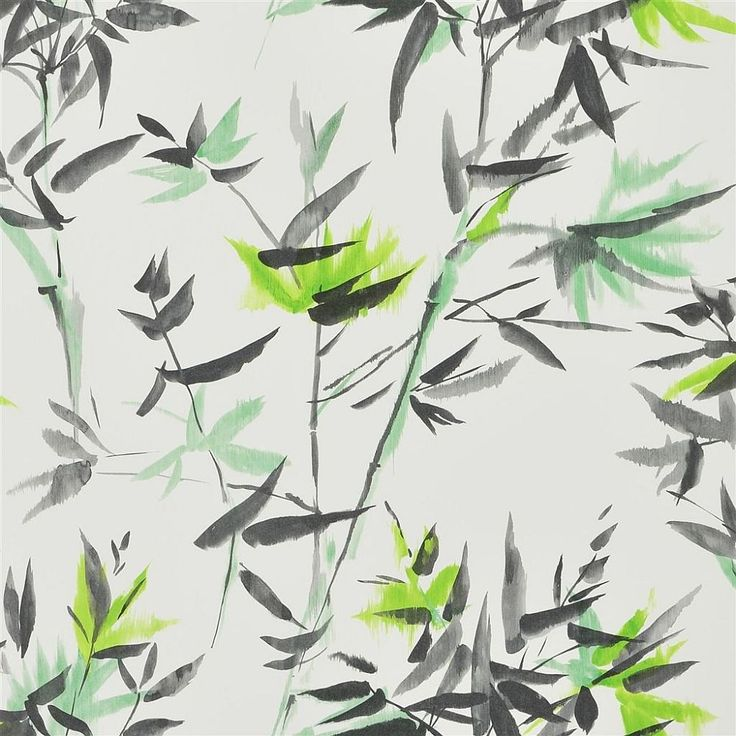 Bamboo Lime wallpaper by Designers Guild
