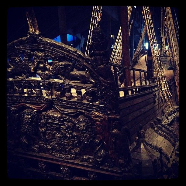 The Vasa ship. Photo: Anders P Näsberg, The National Maritime Museums