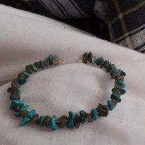 Here is an Awesome Bracelet made from beads with charm . I can do many of these in different colors Please contact me on Facebook or send me a message here.. Would love to help you get some Beautiful Jewelry