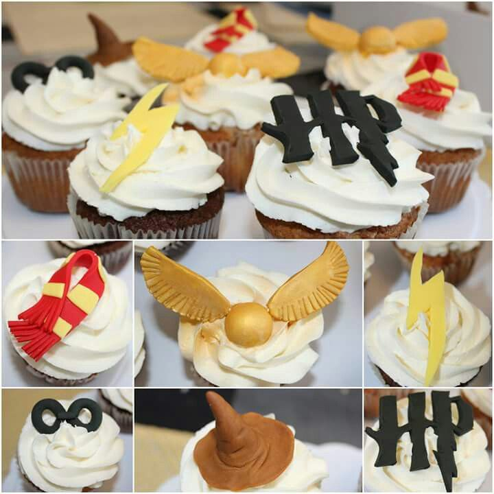 Harry Potter cupcakes.