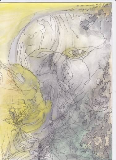 "Saatchi Art Artist Dorota Ziolko; Painting, ""portrait"" #art"