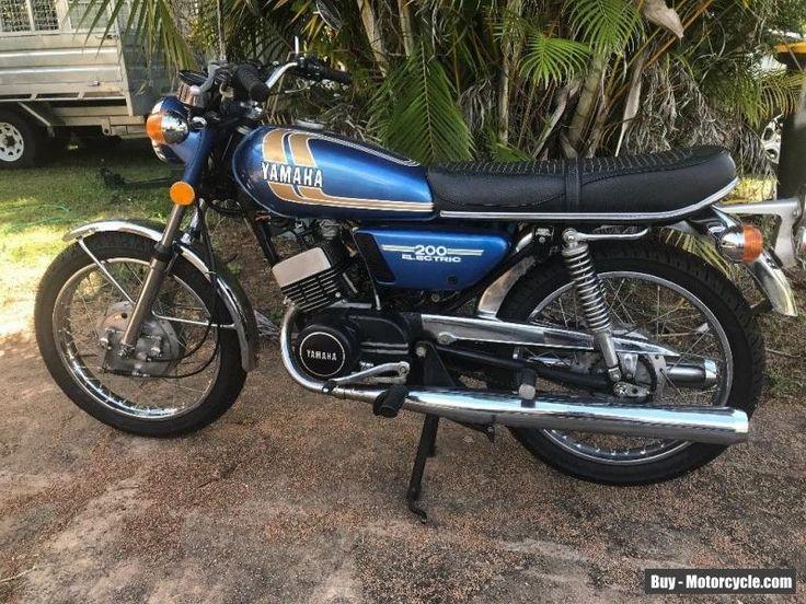1974 Yamaha RD200 Electric Start yamaha rd200 forsale