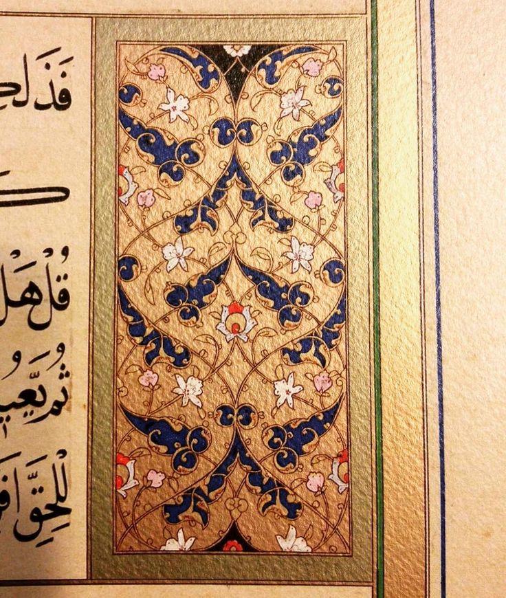"16.yy. Karahisari... ""Yakut-i Rûm"". Ahmed Şemseddin Karahisârî; (d. 1468, Afyonkarahisar - ö. 1556, İstanbul). #hattat #karahisari #tezhip #tezhib #tezhipsanati #gelenekselsanatlar #gelenekselturksanatlari #islamicartwork #islamicartworks #islamsanati #islamiccalligraphy #traditionalturkisharts #ottomanart #ottomanarts #turkislamsanatlari #islamsanatlari #tazhib #islamicdesign #islamicdesigns #artofislam #islamicart #islamicarts #rumi #artuae #16yy #kanunisultansuleyman #sanat #art…"