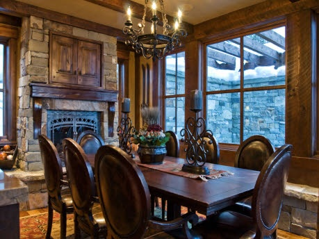 57 Best RUSTIC DINING ROOMS Images On Pinterest