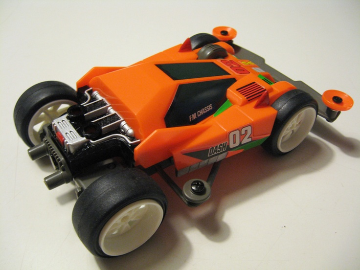 Dash 02 Neo Burning Sun by Aran (original) | Mini 4WD | #