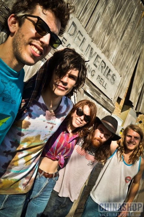 Grouplove! This band is so awesome! In my top 3 bands. I looove them!!