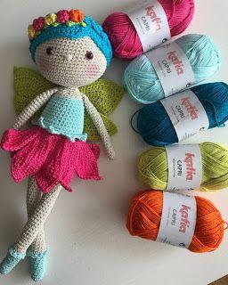 Doll Patterns Free, Crochet Toys Patterns, Amigurumi Patterns, Stuffed Toys Patterns, Crochet Designs, Cute Crochet, Crochet Baby, Knit Crochet, Yarn Crafts