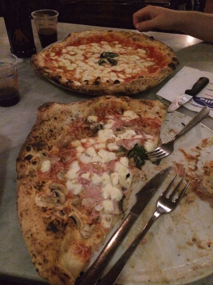 Gino Sorbillo pizza in Naples, Italy - Can't beat it!