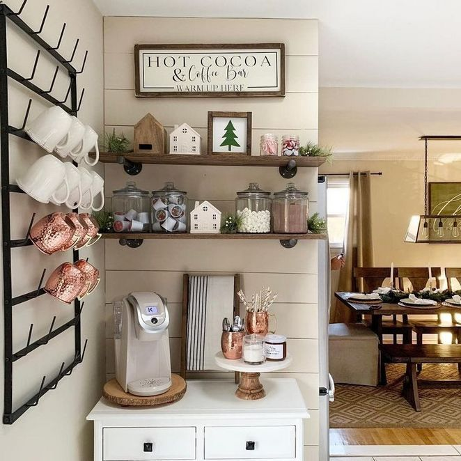 29 Rumors Deception And Coffee Nook In Kitchen Farmhouse Style