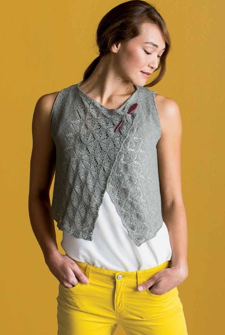 9 best images about Tricot maman gris on Pinterest | Vests, Lace and ...