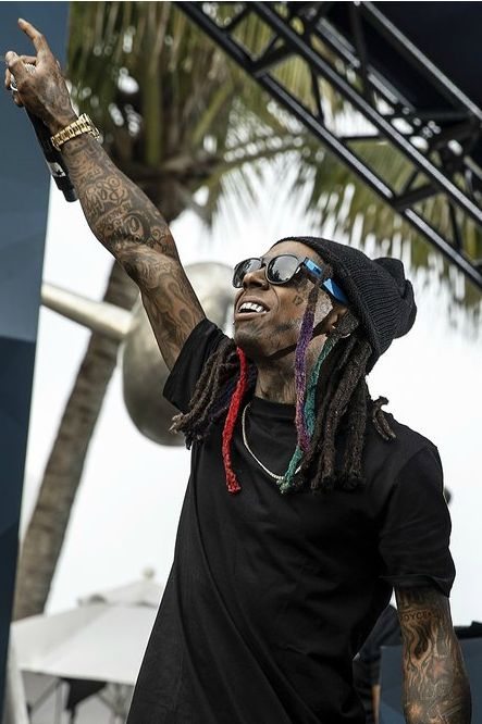 Lil Wayne at Red Bull Guest House.