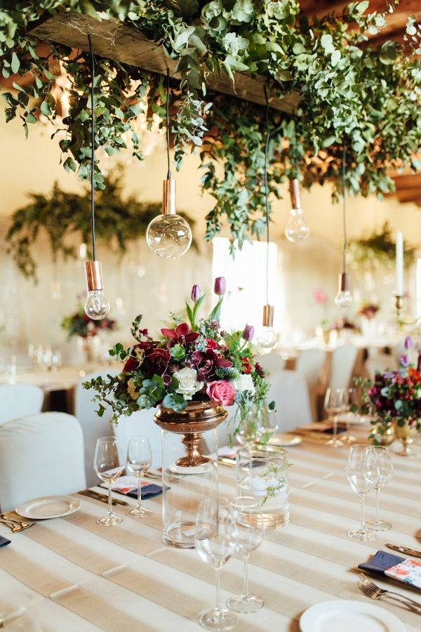Hanging Greenery Decoration 311 best Vintage Centerpieces
