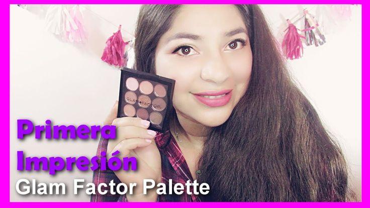 Primera impresión Paleta Eyeshadow Glam Factor/Bichito meikat