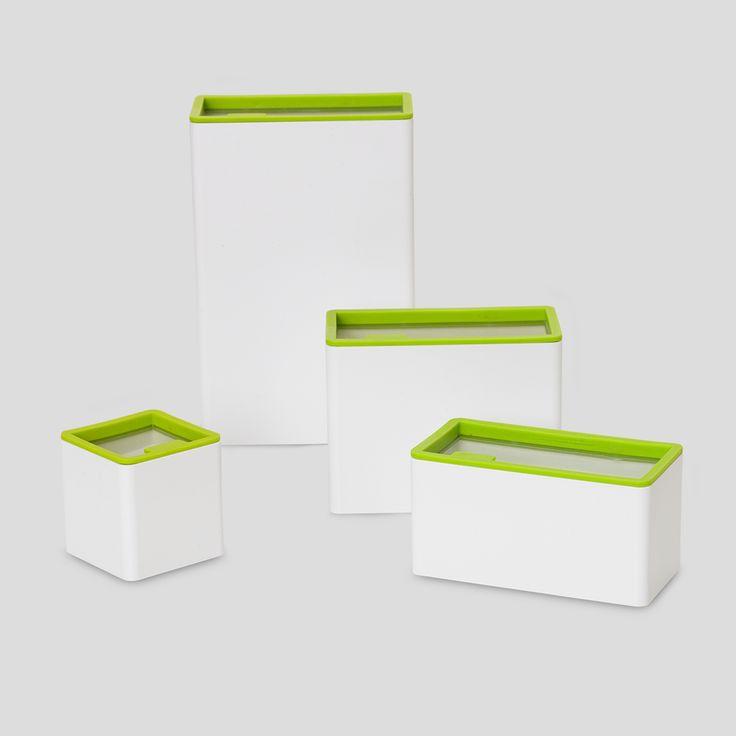 PANTONE Universe, Food storage Macaw Green, Design by Room Copenhagen