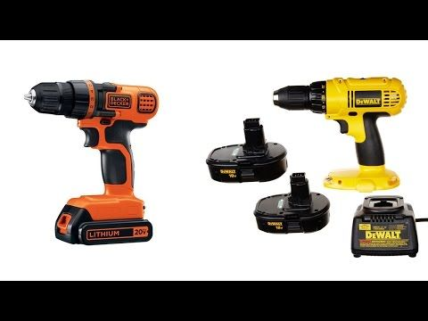 Top 5 Best Cordless Drills Reviews 2016, Cheap Power Tools