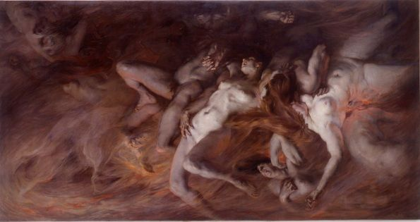 Les Volupteux, Victor Prouvé, 1899