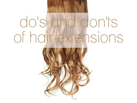 Wedding Hair Extensions: Do's and Don'ts