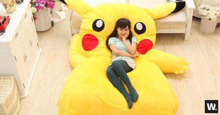 Pikachu Bed - http://www.weirdstuffiwant.com/stuff/pikachu-bed Pikachu remains one of the most popular anime to have been created, having a Pikachu bed is a dream for any anime lover, and even individuals who just want to have a unique bed.