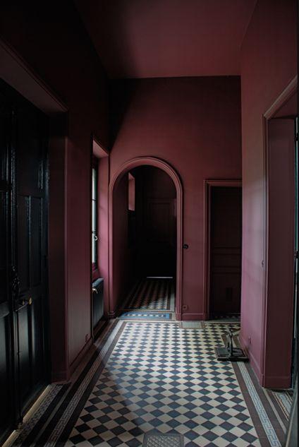 http://serrurierchatou.lartisanpascher.com #serrurier #chatou #intérieur Des murs en Marsala