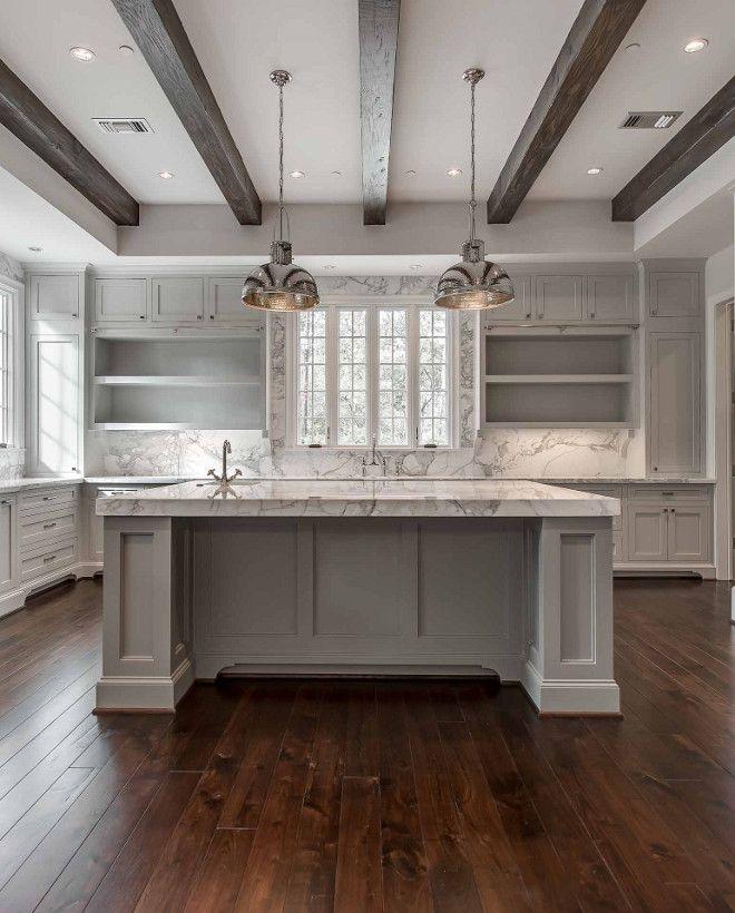 Currey and Company Syllabus Pendants. Kitchen features Currey and Company Syllabus Pendants above island. #CurreyandCoSyllabusPendants #kitchenlighting #kitchenpendants Elizabeth Garrett Interiors.
