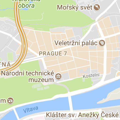 Prague Map - Attractions