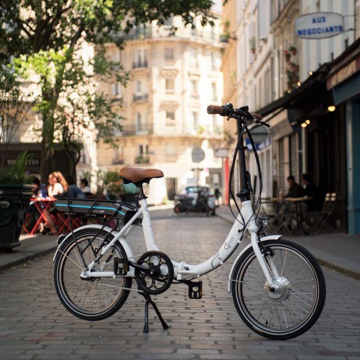 Vélo électrique pliant #Vélo #VéloElectrique #eBike #O2Feel