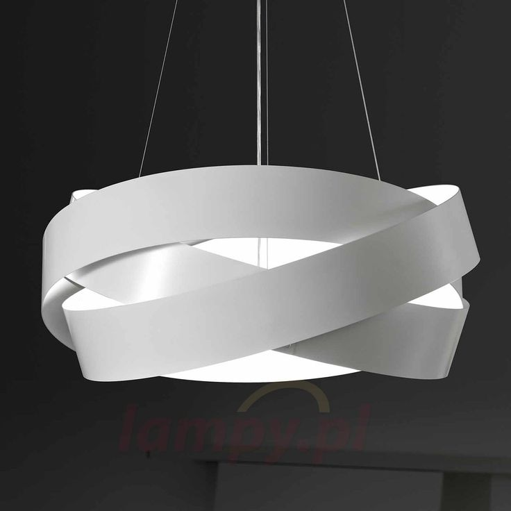 Biała lampa wisząca PURA 6504429