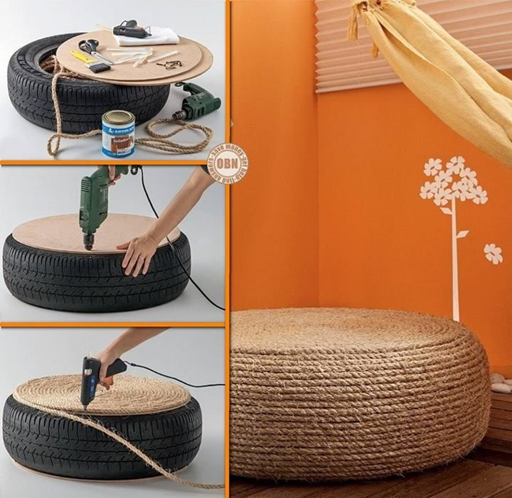 Old tires - hard to get rid of and bad for the environment. What's the - 42 Best Images About DIY Cards And KnickKnacks On Pinterest