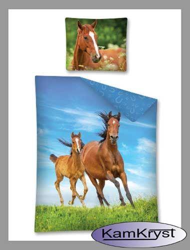 Nowy wzór pościeli z końmi na stronach sklepu - pościel dla miłośników koni